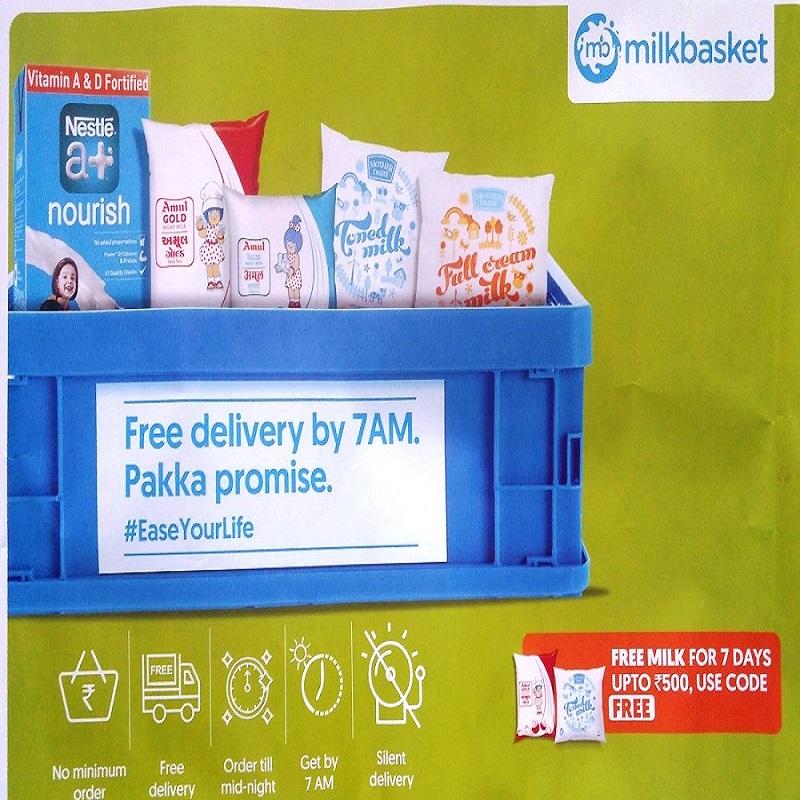 Photo - Milk Basket Daily Milk Paneer Egg Supply